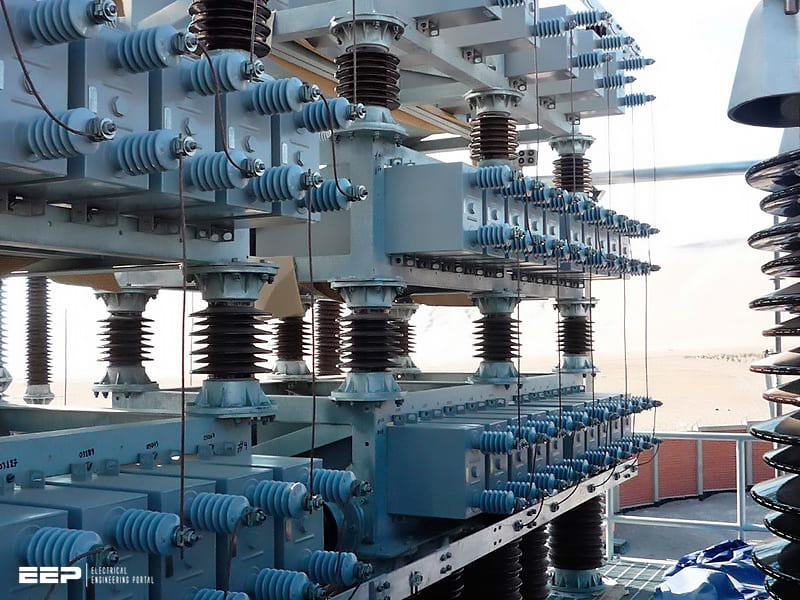 Reactive power compensation in electrical plants with generators