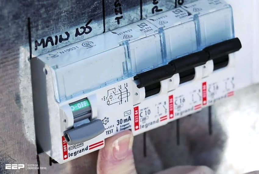 Inevitable in almost all electrical switchboards - Residual current device (RCD)