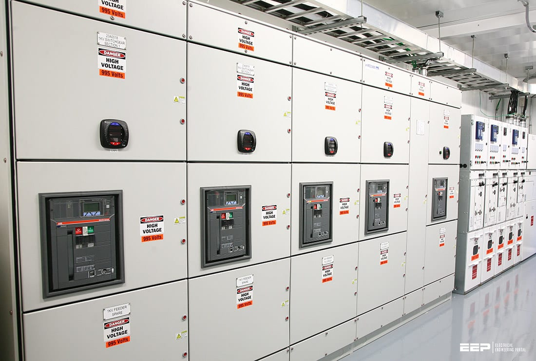 AC and DC facilities in electrical station services of major power plant types