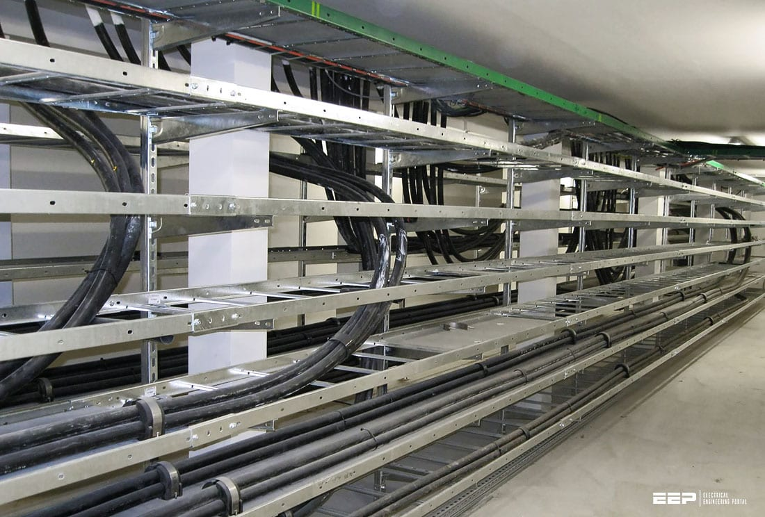 Four very important precautions for installation of cables and busbar trunking systems